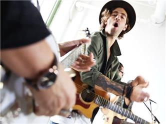 American Authors live at Baeble HQ