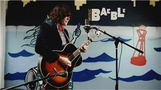 Beach Slang live at Baeble HQ