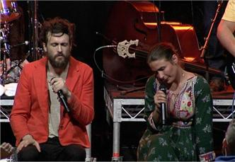 Edward Sharpe and the Magnetic Zeros live at Enmore Theatre