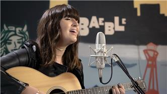 Emily Warren live at Baeble HQ