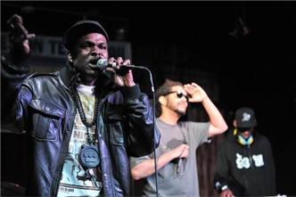 Casual Opio and DJ Toure of The Hieroglyphics Crew live at The Phoenix