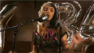 Melanie Martinez live at Atlantic Records Recording Studio