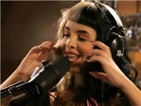 Melanie Martinezlive at Atlantic Records Recording Studio