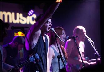 The Mowglis live at Empire Control Room