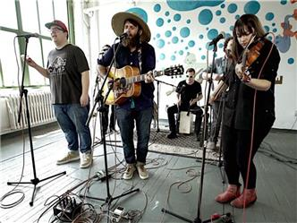 The Strumbellas live at Baeble HQ