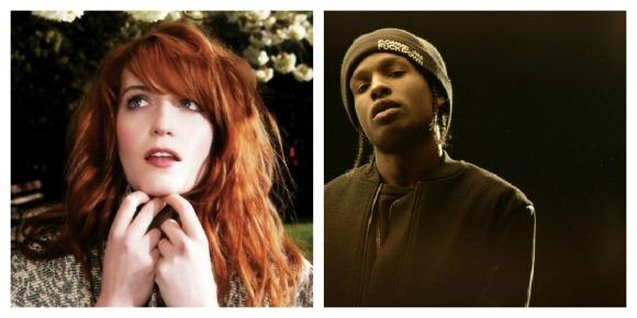 ASAP Rocky and Florence Welch Collaborate