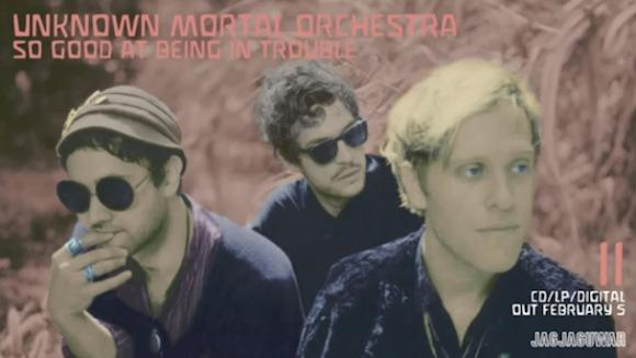Unknown Mortal Orchestra Serve 'So Good At Being In Trouble'