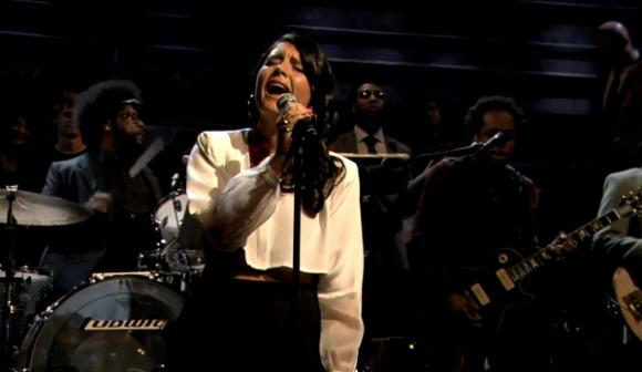 Jessie Ware Entrances Listeners on Late Night with Jimmy Fallon