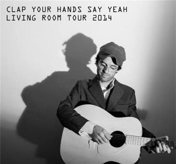 Clap Your Hands Say Yeah Embark on Living Room Tour