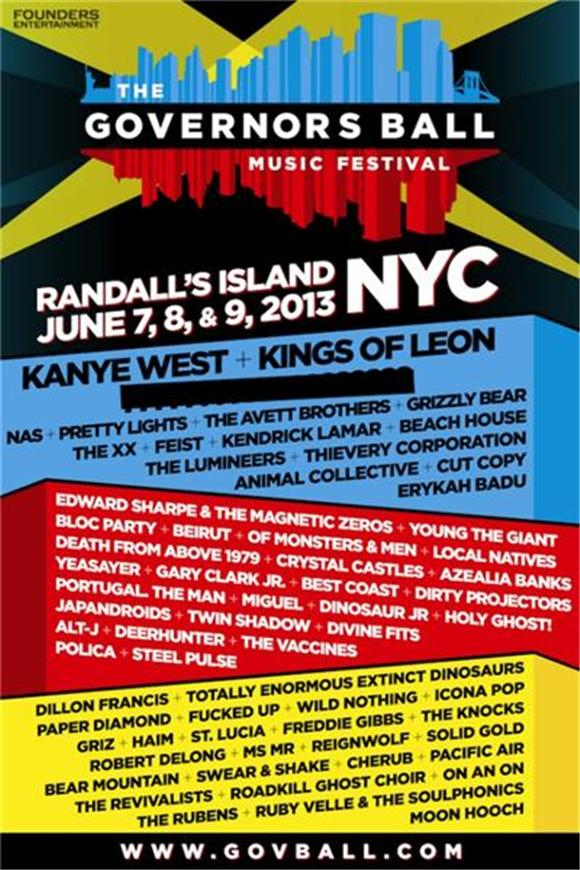 Governors Ball 2013 Lineup: Finally, a Stellar Festival for the Northeast