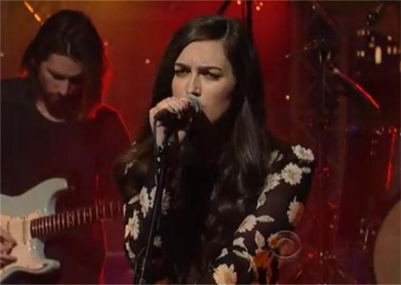 Cults Perform 'Keep Your Head Up' on Letterman