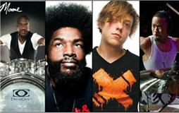 Spotlight On The Background: Drummers
