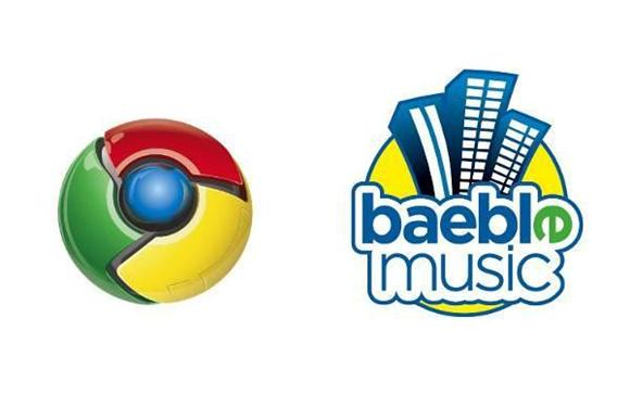 now playing: baeblemusic chrome app