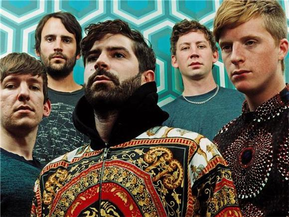 Foals Shred On Colbert