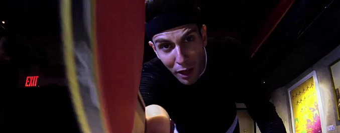 Watch: Baeble Has A Ping Pong Battle With Cobra Starship