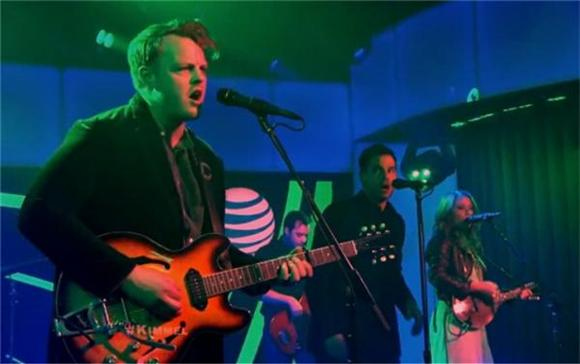 The Lone Bellow Simmers Live On Jimmy Kimmel