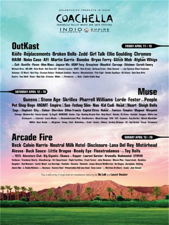 The 2014 Coachella Lineup Has Arrived