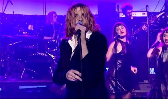Watch: Foxygen Turns Letterman Into A Glam Rock Dance Party