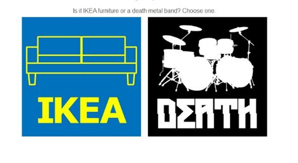 Test Your Furniture and Metal Knowledge with 'Ikea Or Death'