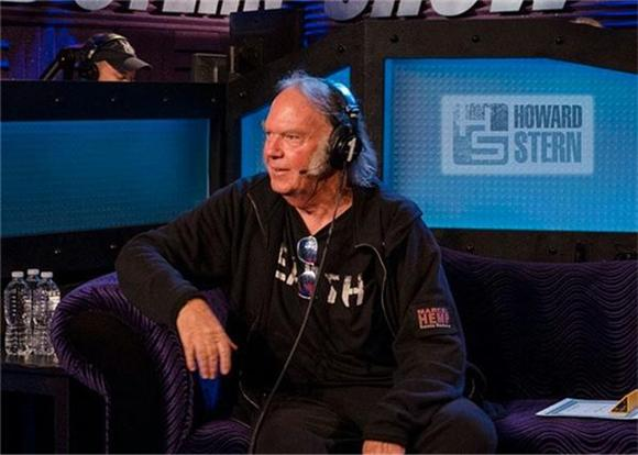 Listen To Howard Stern's Interview With Neil Young