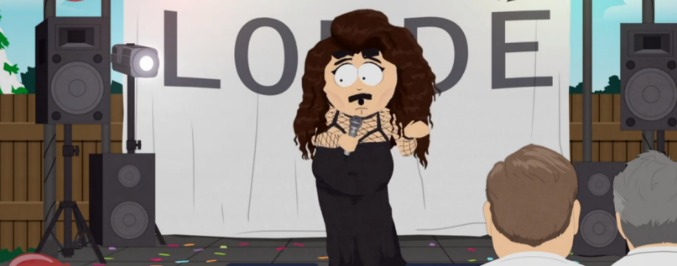 South Park Gave Lorde A Makeover Last Night