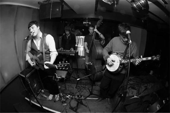 late night: mumford and sons
