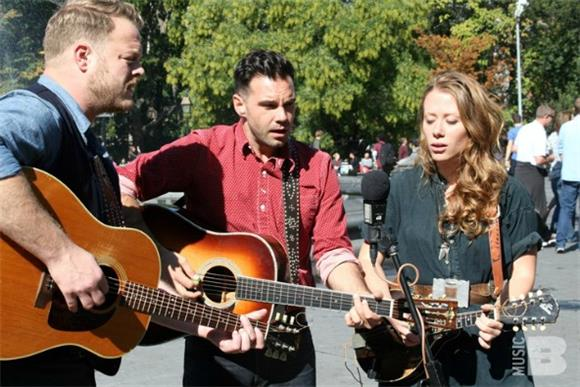 That's A Wrap: The Lone Bellow's Washington Square Park Busk