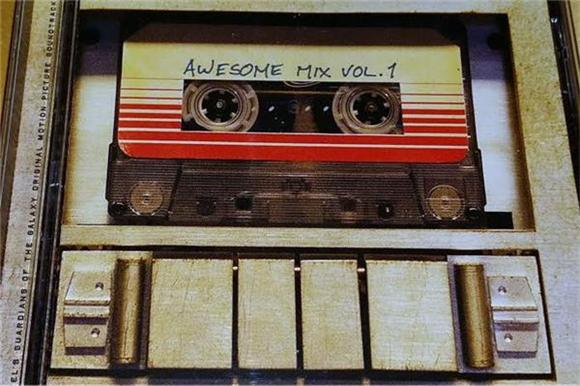 Guardians Of The Galaxy's Awesome Mix Vol 1 Will Come Out On Cassette