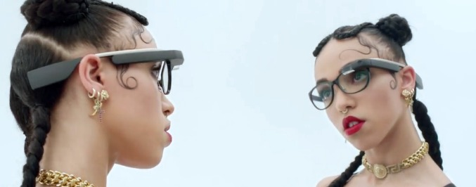 Watch FKA twigs' Concept Film For Google Glass