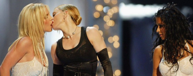 The Truth About Madonna And Britney's VMA Kiss