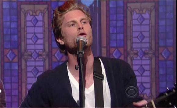 The Lumineers on Letterman