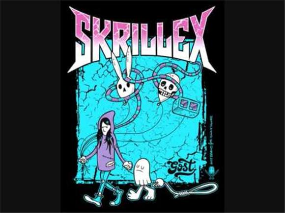 skrillex charts with official release