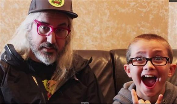Watch J Mascis of Dinosaur Jr Get Interviewed By A 10 Year Old Punk