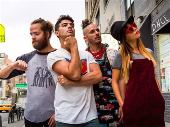 Joe Jonas Brings The Funk: DNCE At The Knitting Factory