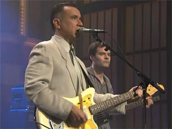 Is It Bad That We Love Fred Armisen and Bill Hader's Talking Heads' Parody Band?
