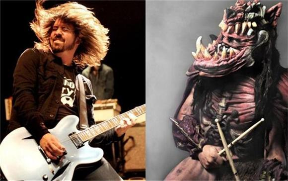 Dave Grohl Narrowly Escapes Death By GWAR