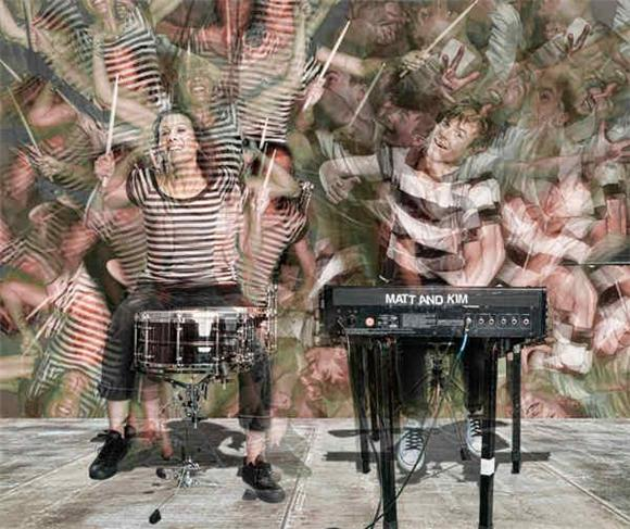 new live video: matt and kim