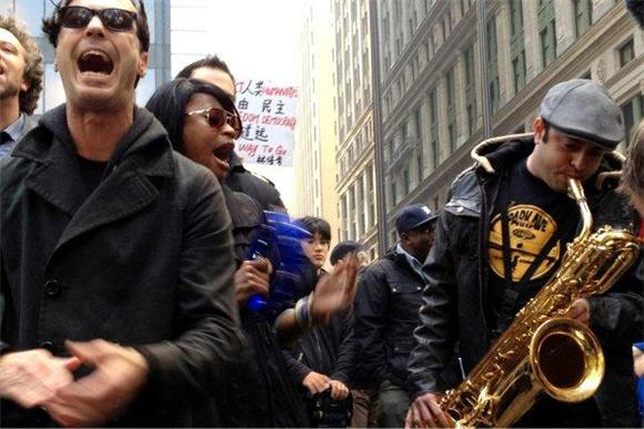 Watch Fitz and The Tantrums Occupy Wall Street