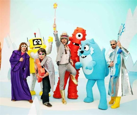 fun video of the day: flaming lips on yo gabba gabba!