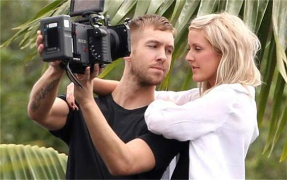 Watch: Ellie Goulding And Calvin Harris 'Outside'