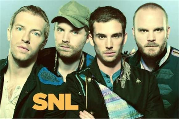 SNL: Coldplay