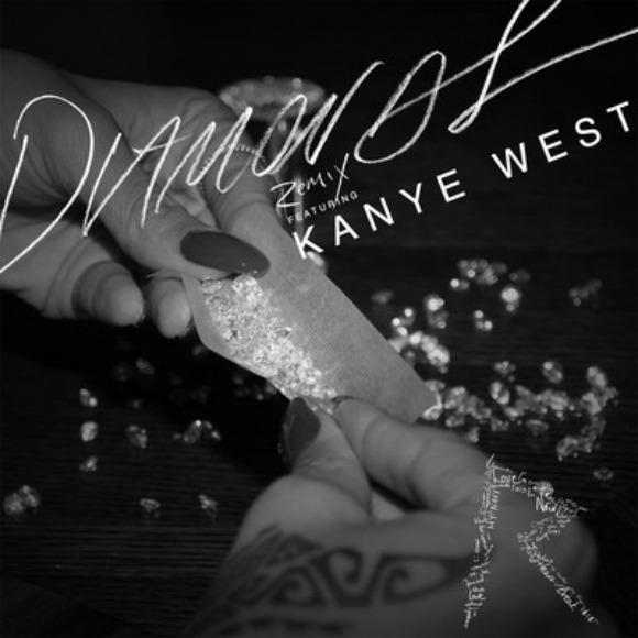 Kanye Drops a Verse on 'Diamonds'