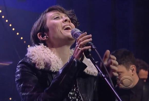Tegan and Sara on Letterman