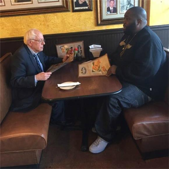 Killer Mike Hits The Stump For Bernie Sanders