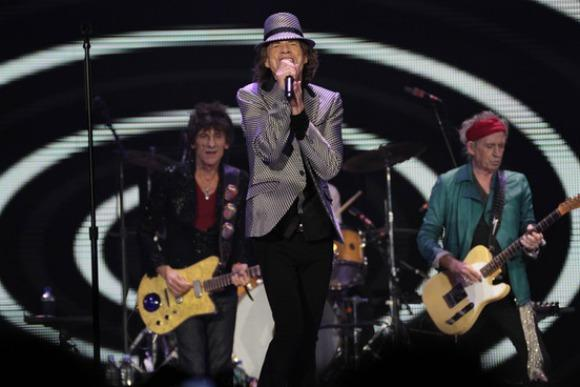 Rolling Stones Hit London's O2 Arena