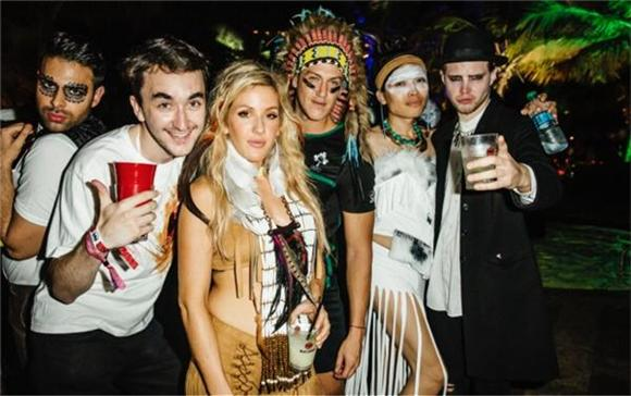 Bacardi Triangle Hosts Halloween Bash