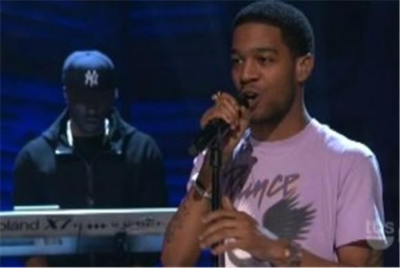 late night: kid cudi