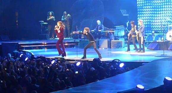 The Rolling Stones and Florence Welch 'Gimme Shelter'