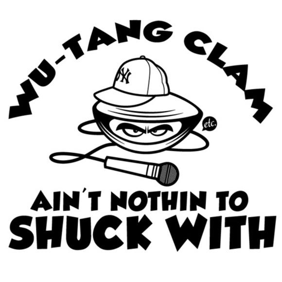 Pic Of The Day: Wu-Tang Clam