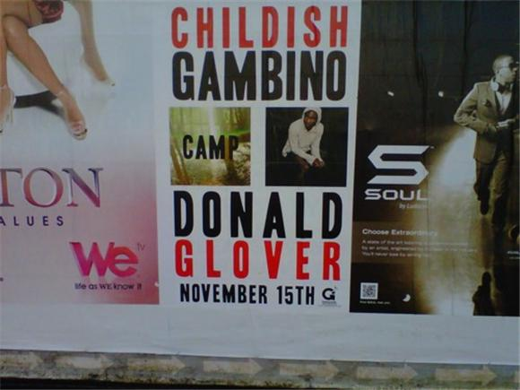 Out and About: Childish Gambino
